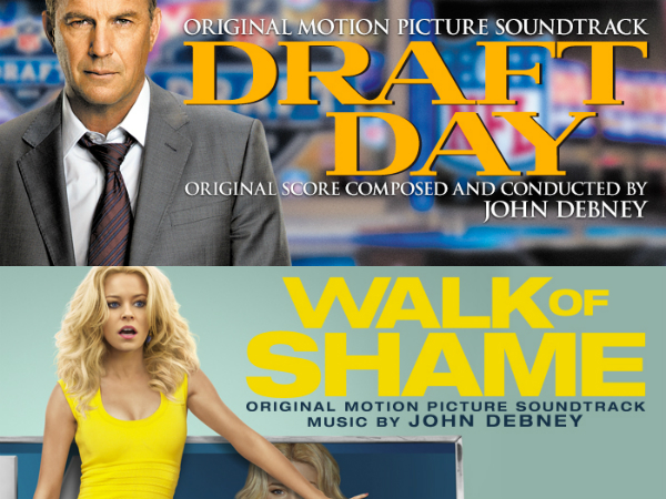 Lakeshore Records: John Debney Film Scores - Draft Day and Walk of Shame